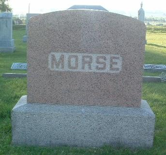 MORSE, FAMILY HEADSTONE - Mills County, Iowa | FAMILY HEADSTONE MORSE