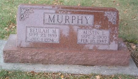 MURPHY, BEULAH M. - Mills County, Iowa | BEULAH M. MURPHY
