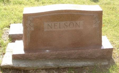 NELSON, FAMILY HEADSTONE - Mills County, Iowa | FAMILY HEADSTONE NELSON