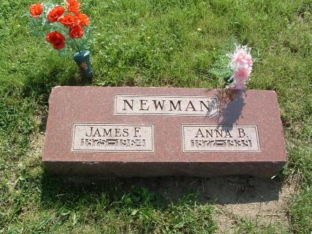 NEWMAN, ANNA B. - Mills County, Iowa | ANNA B. NEWMAN