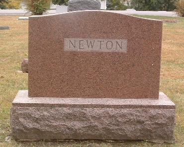 NEWTON, FAMILY HEADSTONE - Mills County, Iowa | FAMILY HEADSTONE NEWTON
