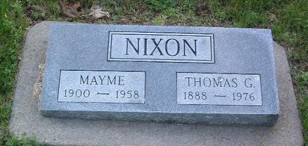 NIXON, MAYME - Mills County, Iowa | MAYME NIXON