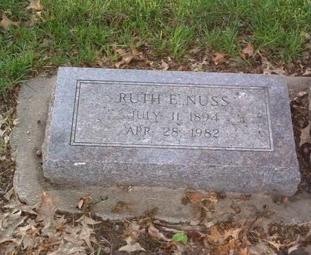 NUSS, RUTH E. - Mills County, Iowa | RUTH E. NUSS