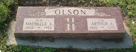 OLSON, MAYBELLE E. - Mills County, Iowa | MAYBELLE E. OLSON