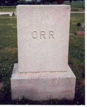 ORR, FAMILY HEADSTONE - Mills County, Iowa | FAMILY HEADSTONE ORR