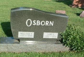 OSBORN, WILLIAM F. - Mills County, Iowa | WILLIAM F. OSBORN