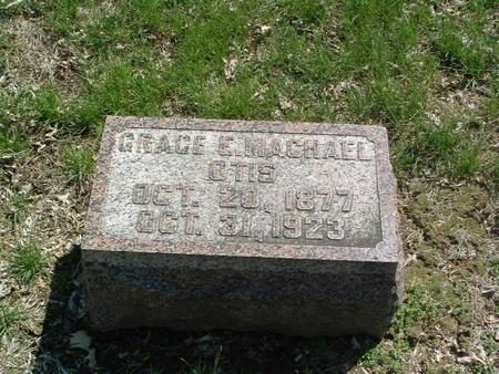 MACHAEL OTIS, GRACE E. - Mills County, Iowa | GRACE E. MACHAEL OTIS
