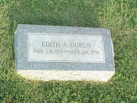 OUREN, EDITH A. - Mills County, Iowa | EDITH A. OUREN