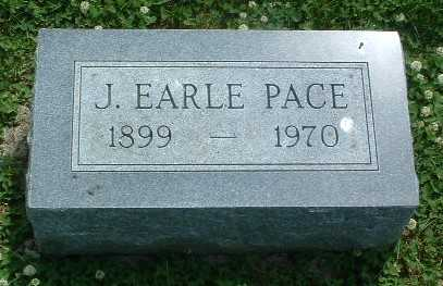 PACE, J. EARLE - Mills County, Iowa | J. EARLE PACE