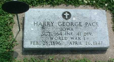 PACE, HARRY GEORGE - Mills County, Iowa | HARRY GEORGE PACE