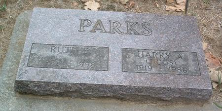 PARKS, HARRY A. (JIGGS) - Mills County, Iowa | HARRY A. (JIGGS) PARKS