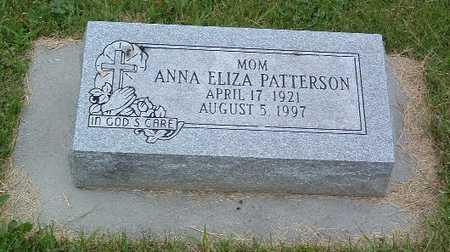 PATTERSON, ANNA ELIZA - Mills County, Iowa | ANNA ELIZA PATTERSON
