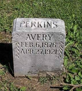 PERKINS, AVERY - Mills County, Iowa | AVERY PERKINS