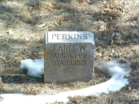 PERKINS, EARLE W. - Mills County, Iowa | EARLE W. PERKINS
