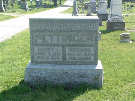 PETTINGER, RICHARD - Mills County, Iowa | RICHARD PETTINGER