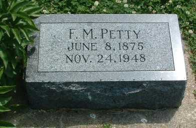 PETTY, F.M. - Mills County, Iowa | F.M. PETTY