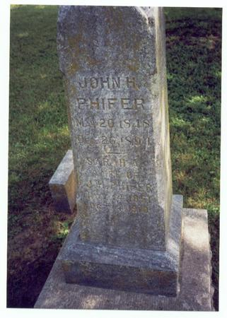 PHIFER, JOHN H. - Mills County, Iowa | JOHN H. PHIFER