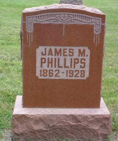 PHILLIPS, JAMES M. - Mills County, Iowa | JAMES M. PHILLIPS