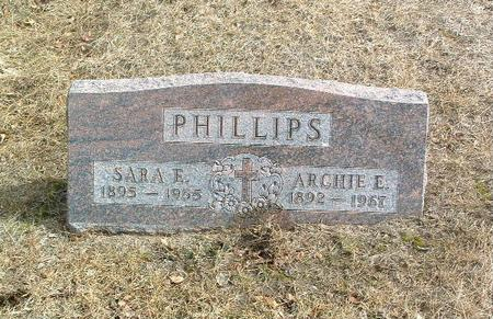 PHILLIPS, SARA E. - Mills County, Iowa | SARA E. PHILLIPS
