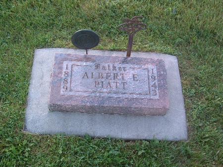 PIATT, ALBERT E. - Mills County, Iowa   ALBERT E. PIATT