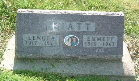 PIATT, EMMETT - Mills County, Iowa | EMMETT PIATT