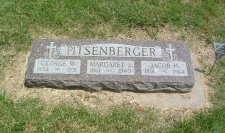 PITSENBERGER, GEORGE W. - Mills County, Iowa | GEORGE W. PITSENBERGER