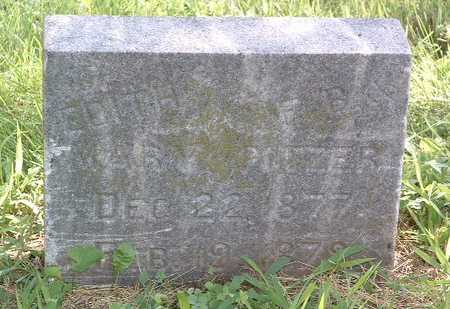 PITZER, EDITH MARY - Mills County, Iowa | EDITH MARY PITZER