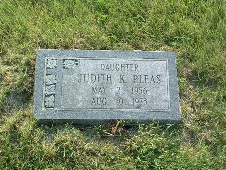 PLEAS, JUDITH K. - Mills County, Iowa | JUDITH K. PLEAS