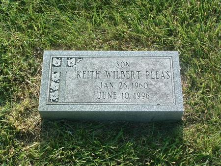 PLEAS, KEITH WILBERT - Mills County, Iowa | KEITH WILBERT PLEAS