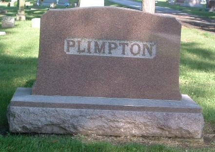 PLIMPTON, FAMILY HEADSTONE - Mills County, Iowa | FAMILY HEADSTONE PLIMPTON