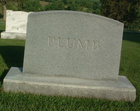 PLUMB, FAMILY HEADSTONE - Mills County, Iowa | FAMILY HEADSTONE PLUMB
