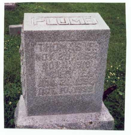 PLUMB, THOMAS FRANCIS - Mills County, Iowa | THOMAS FRANCIS PLUMB