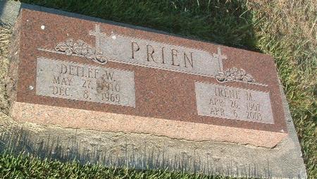 PRIEN, DETLEF W. - Mills County, Iowa | DETLEF W. PRIEN