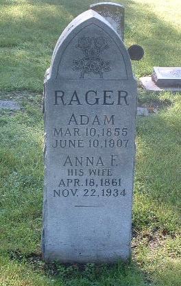 RAGER, ANNA E. - Mills County, Iowa | ANNA E. RAGER
