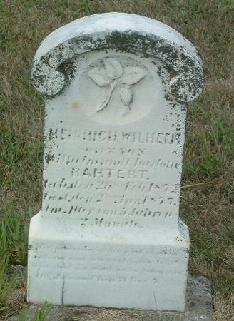 RAHTERT, HEINRICH WILHELM - Mills County, Iowa   HEINRICH WILHELM RAHTERT