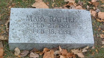 RATHKE, MARY - Mills County, Iowa | MARY RATHKE