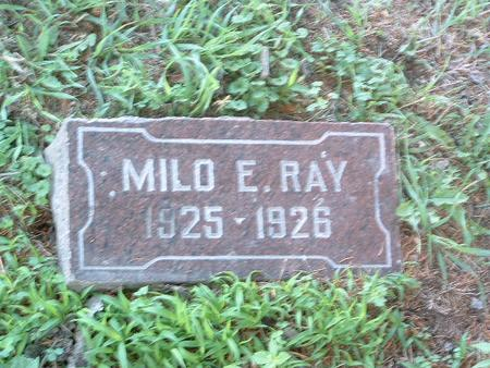 RAY, MILO E. - Mills County, Iowa | MILO E. RAY