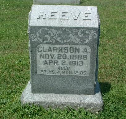 REEVE, CLARKSON A. - Mills County, Iowa | CLARKSON A. REEVE