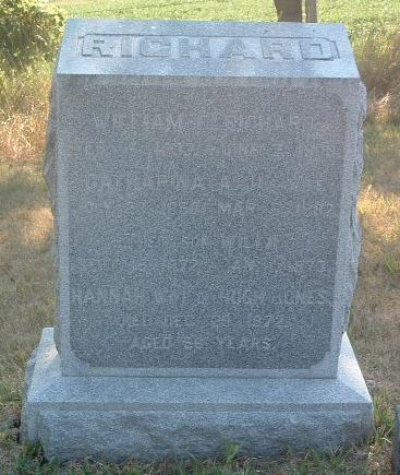RICHARD, CATHARINA A. - Mills County, Iowa | CATHARINA A. RICHARD