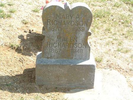 RICHARDSON, MARY A. - Mills County, Iowa | MARY A. RICHARDSON