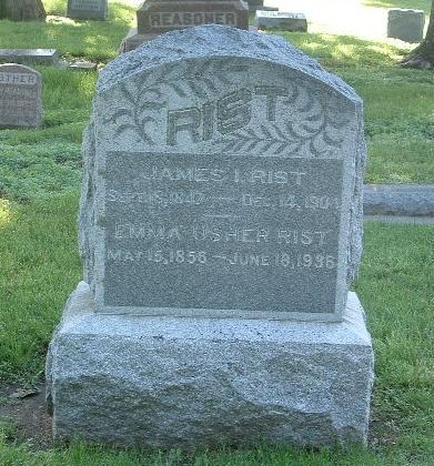USHER RIST, EMMA - Mills County, Iowa | EMMA USHER RIST