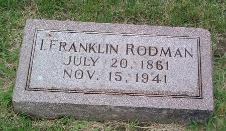 RODMAN, L. FRANKLIN - Mills County, Iowa   L. FRANKLIN RODMAN