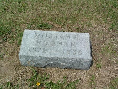 RODMAN, WILLIAM H. - Mills County, Iowa | WILLIAM H. RODMAN