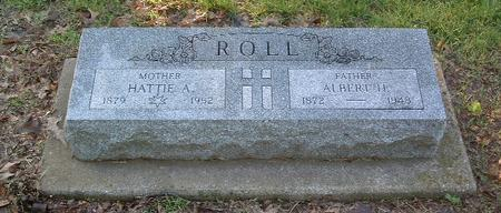 ROLL, HATTIE A. - Mills County, Iowa | HATTIE A. ROLL