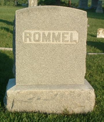 ROMMEL, FAMILY HEADSTONE - Mills County, Iowa | FAMILY HEADSTONE ROMMEL