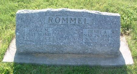 ROMMEL, GRACE M. - Mills County, Iowa | GRACE M. ROMMEL