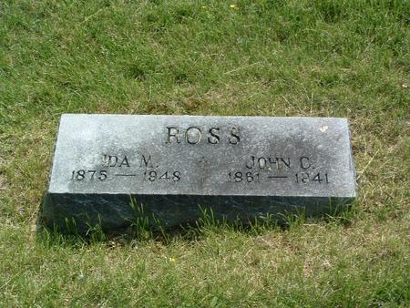 ROSS, IDA M. - Mills County, Iowa | IDA M. ROSS