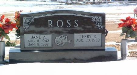 ROSS, JANE A. - Mills County, Iowa | JANE A. ROSS
