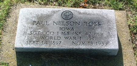 ROSS, PAUL NELSON - Mills County, Iowa | PAUL NELSON ROSS