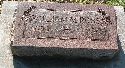 ROSS, WILLIAM M. - Mills County, Iowa | WILLIAM M. ROSS